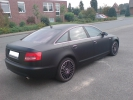 Audi schwarz heck